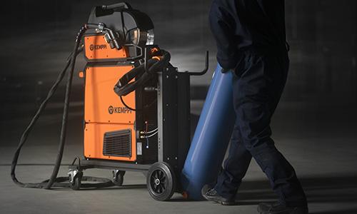 X5 FastMig - jednoduché nakladanie plynovej fľaše z podlahy