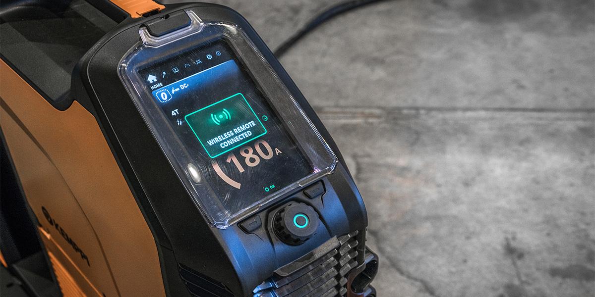 MasterTig pripojenie diaľkového ovládania k zváraciemu zdroju